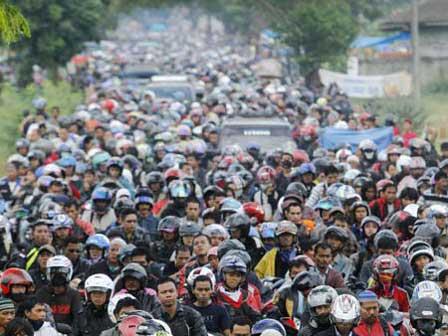 Kemacetan Saat Mudik di Pantura